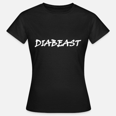 Spreadshirt Diabeast White - T-shirt dam