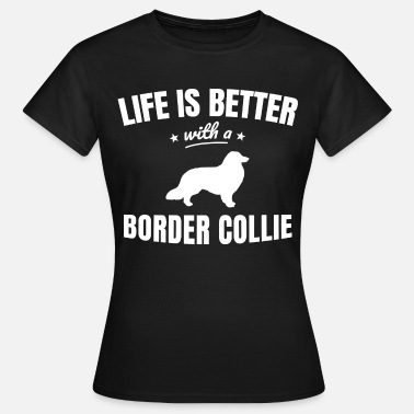 Border Collie Border Collie - T-shirt Femme