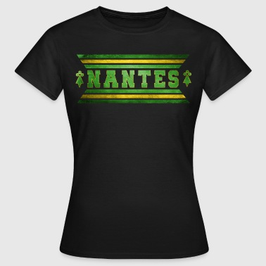 Supporters Football Nantes vintage - T-shirt Femme