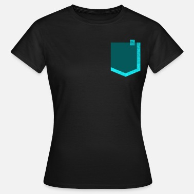 Turquoise turquoise - Women's T-Shirt
