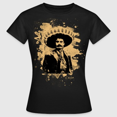 Emiliano Zapata - bleached natural - Frauen T-Shirt