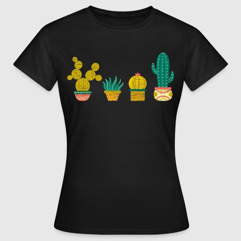 cool cactus illustration design von yakoazon spreadshirt. Black Bedroom Furniture Sets. Home Design Ideas