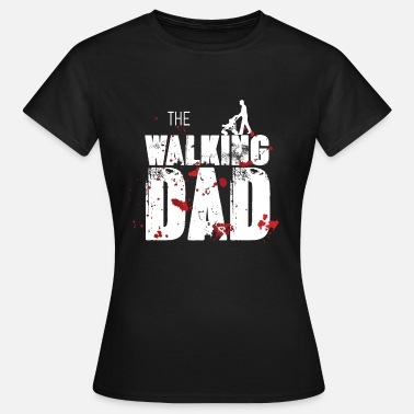 Uran Zombie Apocalypse Atom Uran Supergau Daddy Father's Day - Dame-T-shirt