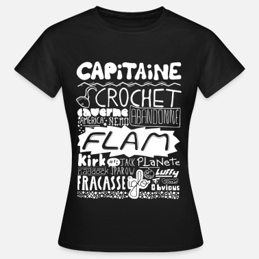 Capitaine Flam capitaine-blanc Tee shirts - T-shirt Femme