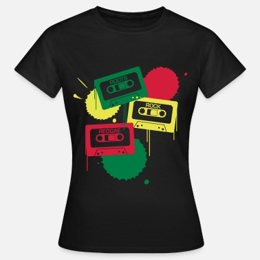 Rastafari Roots, Rock, Reggae - Frauen T-Shirt