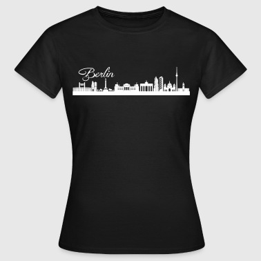Skyline Berlin Berliner Skyline - Frauen T-Shirt
