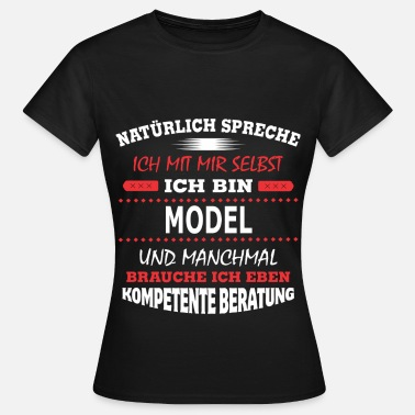 Models MODEL - Frauen T-Shirt