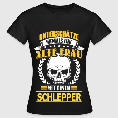 SCHLEPPER - Frauen T-Shirt