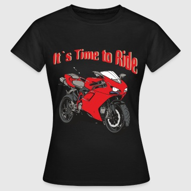 Time to Ride - Frauen T-Shirt