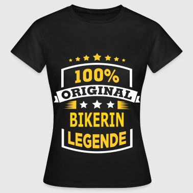 BIKERIN - Frauen T-Shirt