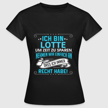 LOTTE - Frauen T-Shirt