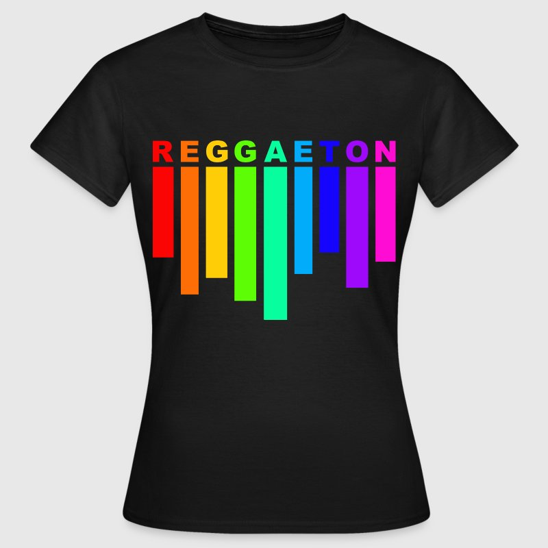 reggaeton rainbow - Women's T-Shirt