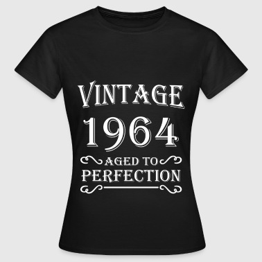 Vintage 1964 - Aged to perfection - Frauen T-Shirt