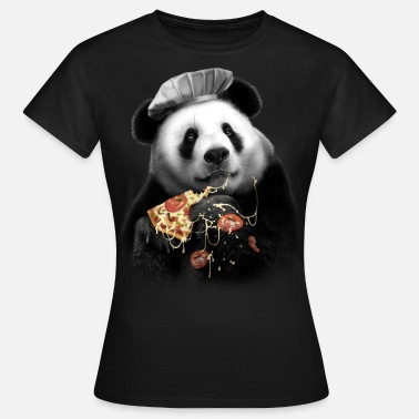 Panda Pizza Panda - Frauen T-Shirt