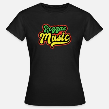 Roots Reggae Colored Music Gift - Women's T-Shirt