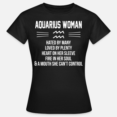 Aquarius Aquarius Woman - Women's T-Shirt