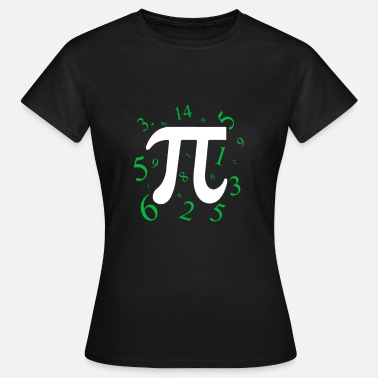 Number PI 3,141 Mathematics Gift - Women's T-Shirt