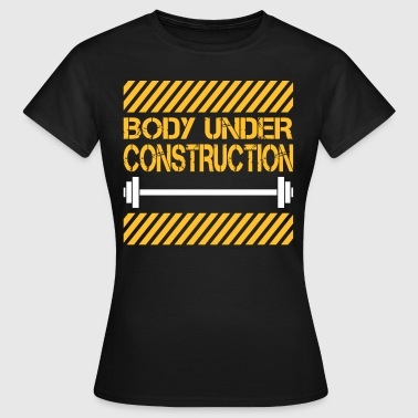 Body under construction - Camiseta mujer