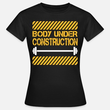 Body Pump Body under construction - Camiseta mujer