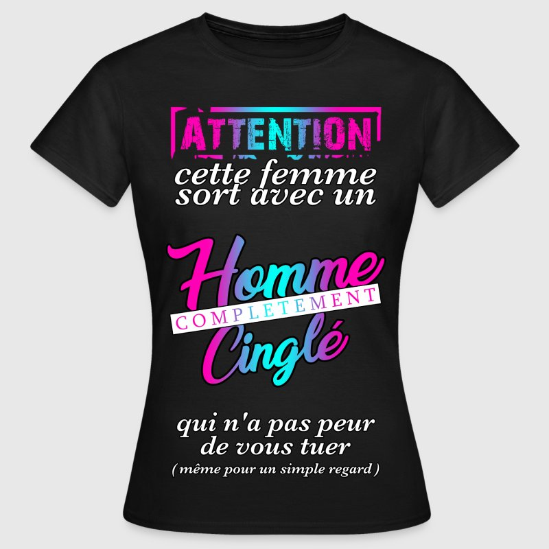 Couple homme cingle - T-shirt Femme