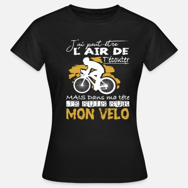 Velo Love Bicycle Shirt • Velo love • Super Cadeaux - T-shirt Femme