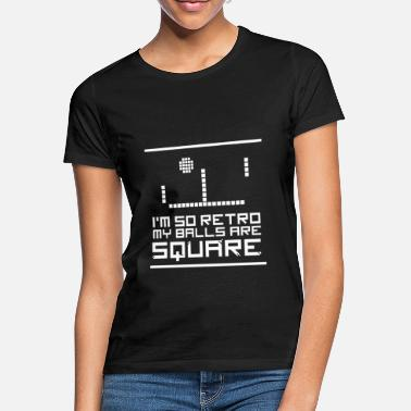 School Arcade old school video game square gamer - Women's T-Shirt