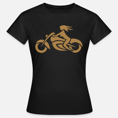 Biker Girl Biker Chick - Women's T-Shirt