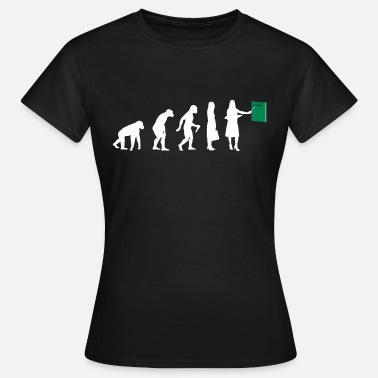 Evolution Lehrer Lehrer Evolution - Frauen T-Shirt