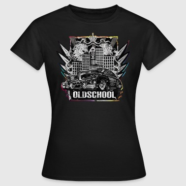 Oldschool Vintage Car im Hip Hop Style - Frauen T-Shirt