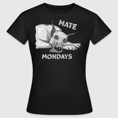 Hate Mondays - Women's T-Shirt