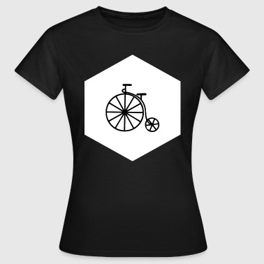 HIPSTER PENNY FARTHING (w) - Camiseta mujer