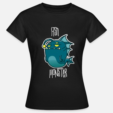 Lasse Fish Monster Lasse Gift - Women's T-Shirt