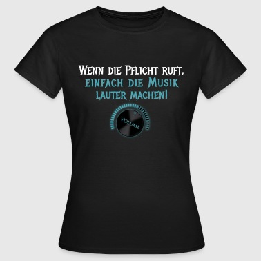 Hit Parade Quand le devoir appelle ... - T-shirt Femme