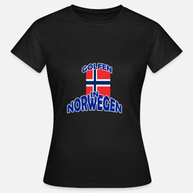 Golf Shoes Golfing Golfing Golf Norway - Women's T-Shirt