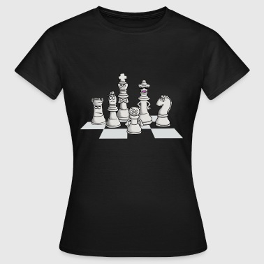 chess_gang - Frauen T-Shirt