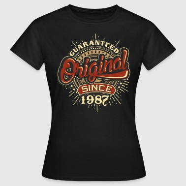 Since 1987 Birthday guaranteed since 1987 - Frauen T-Shirt