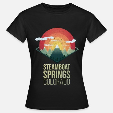 Colorado Springs Snowboard Ski Colorado Steamboat Springs Gift - Women's T-Shirt