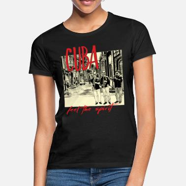 Spreadmusic2015 spreadmusic2015 Cuba Spirit auf dunkel - Frauen T-Shirt