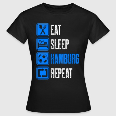 Repeating Repeat Hamburg - Women's T-Shirt