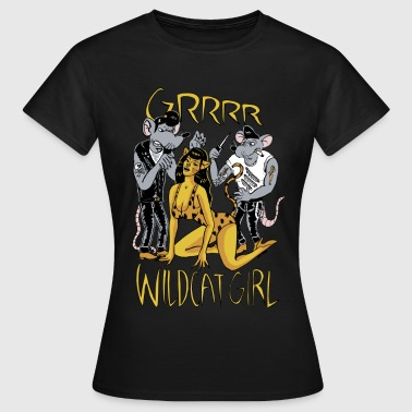 wildcat girl - Women's T-Shirt