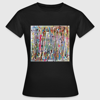 Paint Splash Colour - Women's T-Shirt