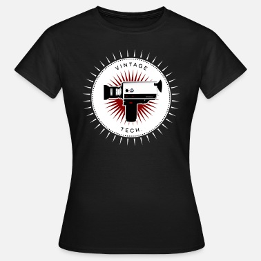 Camera Icon Vintage icons 05 - Super 8 camera - Women's T-Shirt