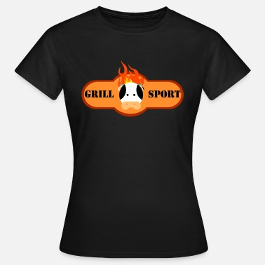 Cow Sports T-shirt grilling sport cow - Women's T-Shirt