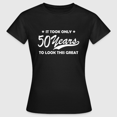 50 years birthday - Frauen T-Shirt