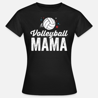Coach Volleybal Team Volleybal Mama T-shirt voor Dames Coach Team - Vrouwen T-shirt