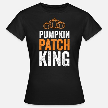 Oranje King Pumpkin Patch King Funny Halloween T-shirt oranje - Vrouwen T-shirt