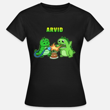 Arvid Arvid birthday gift - Women's T-Shirt
