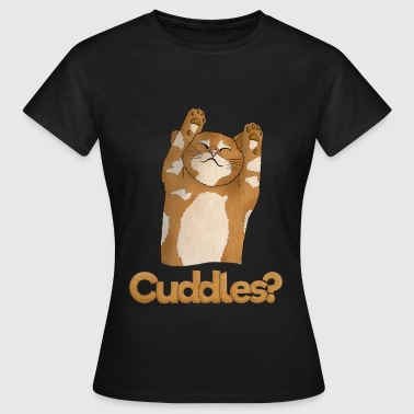 kitten Cuddles - Women's T-Shirt