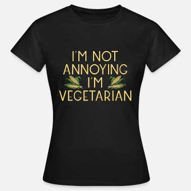 Maize vegetarian vegan veggie corn maize corn3 - Women's T-Shirt