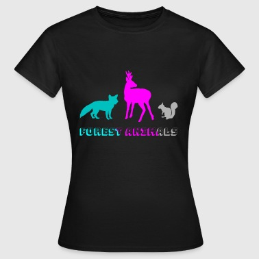 Forest Animal Forest animals - Women's T-Shirt